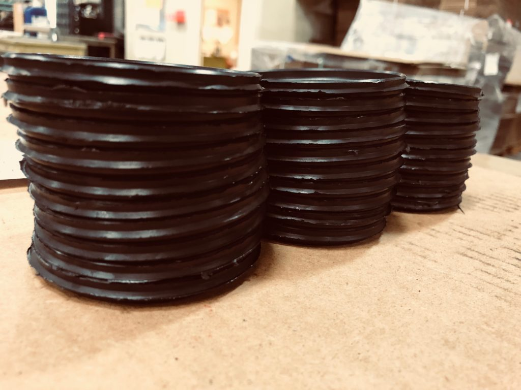 short run rubber part